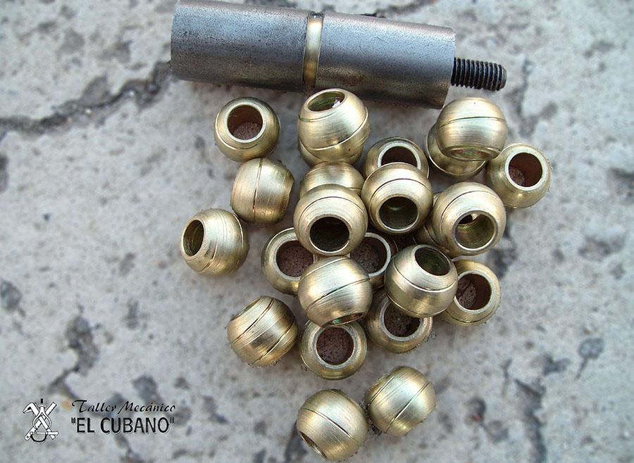 Bolas perforadas - Meycatec
