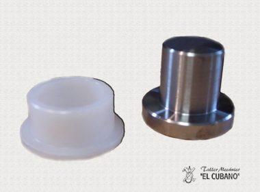 mecanizado en hierro y nylon
